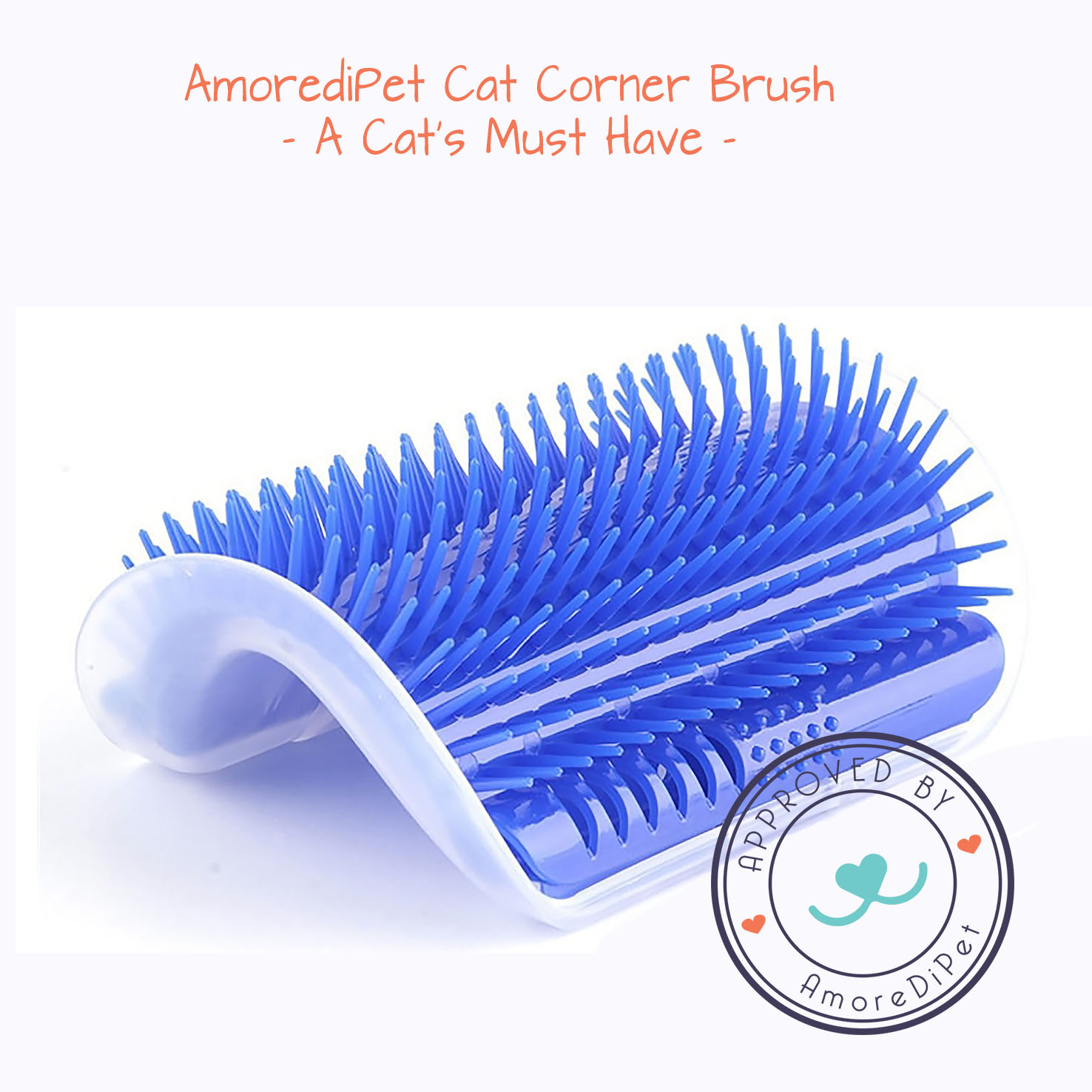 AmorediPet Cat Corner Brush